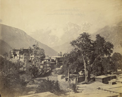 Village of Khanum, Upper Kunawar [Kinnaur].